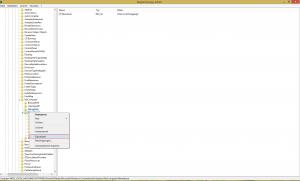 Abbildung 3: Export der Registry-Einträge